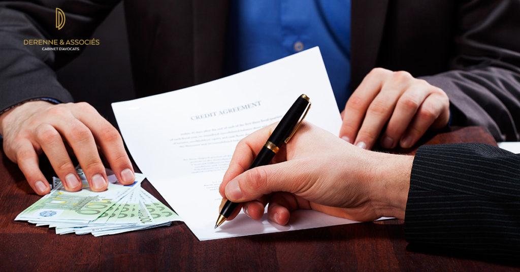 Montant impayé majoré d'une clause pénale - Derenne & Associés